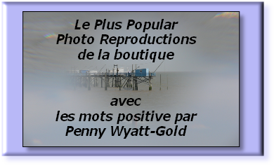 Le Plus Popular Photo Reproductions  de la boutique    avec les mots positive par Penny Wyatt-Gold